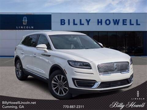 2020 Lincoln Nautilus for sale at BILLY HOWELL FORD LINCOLN in Cumming GA