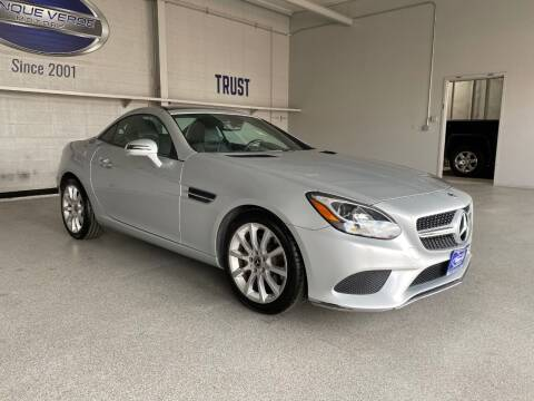 2018 Mercedes-Benz SLC for sale at TANQUE VERDE MOTORS in Tucson AZ