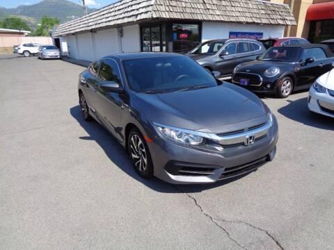 2017 Honda Civic for sale at Autobahn Motors Corp in Bountiful UT