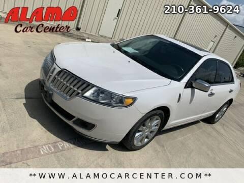 2011 Lincoln MKZ for sale at Alamo Car Center in San Antonio TX