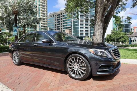 2015 Mercedes-Benz S-Class for sale at Choice Auto in Fort Lauderdale FL