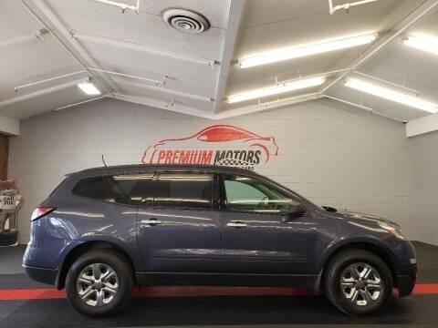 2013 Chevrolet Traverse for sale at Premium Motors in Villa Park IL