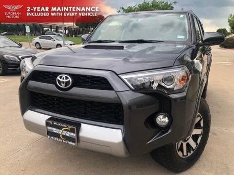 2018 Toyota 4Runner for sale at European Motors Inc in Plano TX