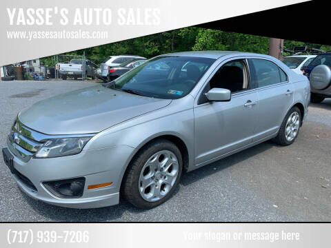 2010 Ford Fusion for sale at YASSE'S AUTO SALES in Steelton PA