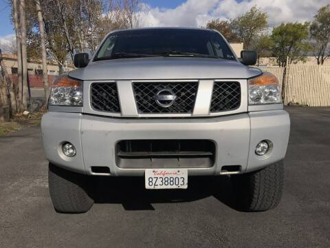 2004 Nissan Titan for sale at EXPRESS CREDIT MOTORS in San Jose CA