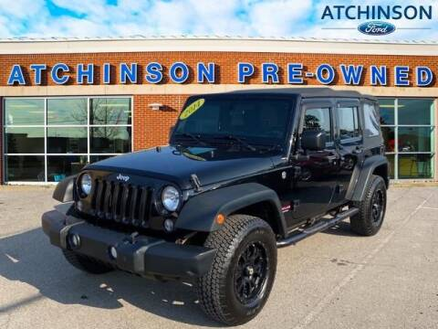 2014 Jeep Wrangler Unlimited for sale at Atchinson Ford Sales Inc in Belleville MI