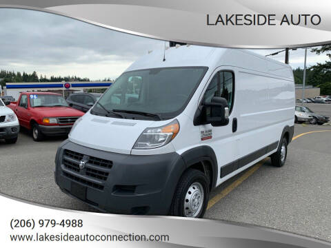 2017 RAM ProMaster Cargo for sale at Lakeside Auto in Lynnwood WA