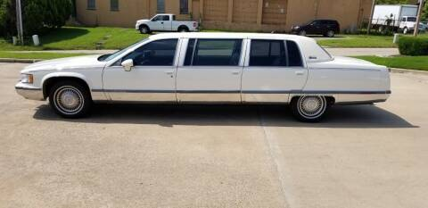 1994 Cadillac Fleetwood for sale at FRANSISCO & MONROE FUNERAL CAR SALES LLC in Tulsa OK