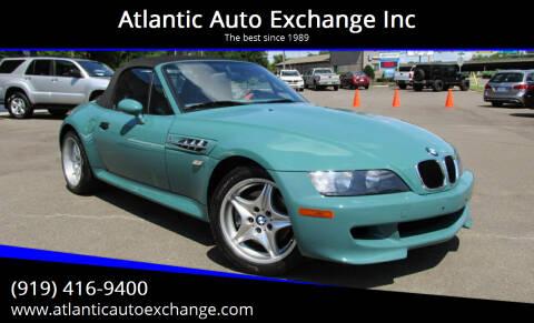 1999 BMW M for sale at Atlantic Auto Exchange Inc in Durham NC