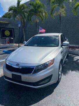 2013 Kia Optima for sale at YOUR BEST DRIVE in Oakland Park FL