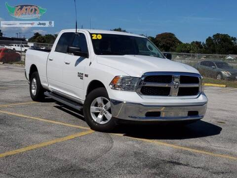 2020 RAM Ram Pickup 1500 Classic for sale at GATOR'S IMPORT SUPERSTORE in Melbourne FL