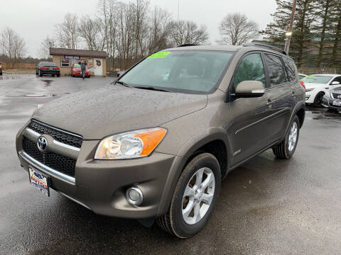 2012 Toyota RAV4 for sale at Excellent Autos in Amsterdam NY