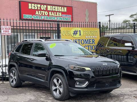 2019 Jeep Cherokee for sale at Best of Michigan Auto Sales in Detroit MI