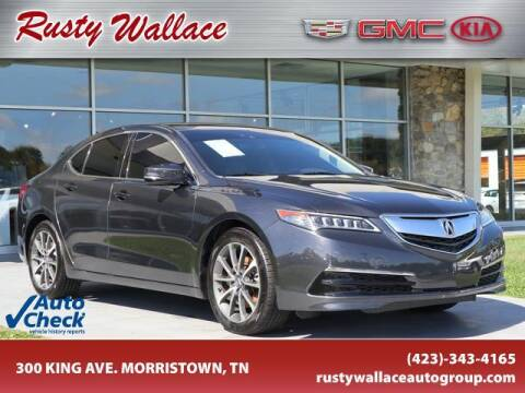 2015 Acura TLX for sale at RUSTY WALLACE CADILLAC GMC KIA in Morristown TN