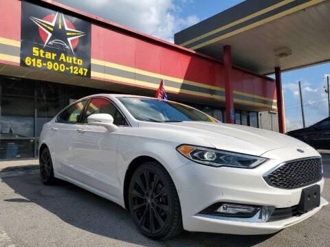 2017 Ford Fusion for sale at Star Auto Inc. in Murfreesboro TN