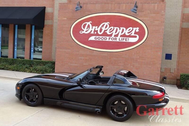 1994 Dodge Viper for sale at Garrett Classics in Lewisville TX