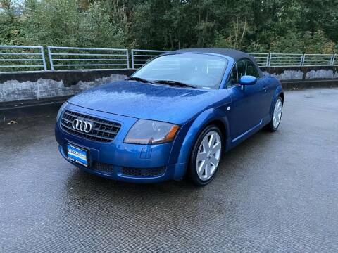 2003 Audi TT for sale at Zipstar Auto Sales in Lynnwood WA