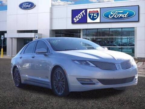 2016 Lincoln MKZ for sale at Szott Ford in Holly MI