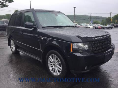 2012 Land Rover Range Rover for sale at J & M Automotive in Naugatuck CT