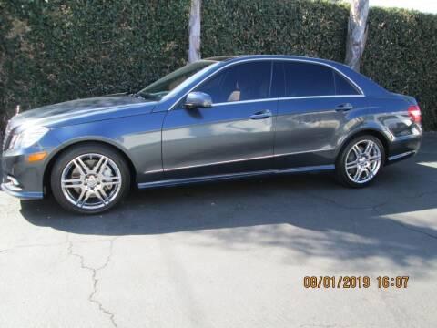2010 Mercedes-Benz E-Class for sale at Elite Dealer Sales in Costa Mesa CA