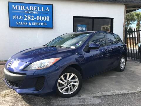 2013 Mazda MAZDA3 for sale at Mirabella Motors in Tampa FL