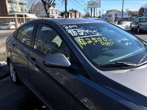2014 Hyundai Accent for sale at Chambers Auto Sales LLC in Trenton NJ