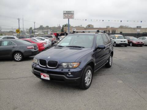 2006 BMW X5 for sale at A&S 1 Imports LLC in Cincinnati OH