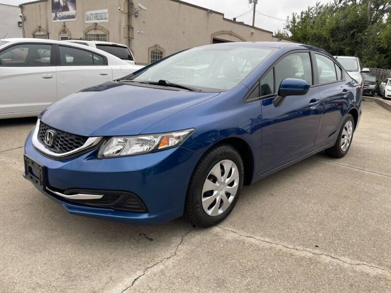 2015 Honda Civic for sale at T & G / Auto4wholesale in Parma OH