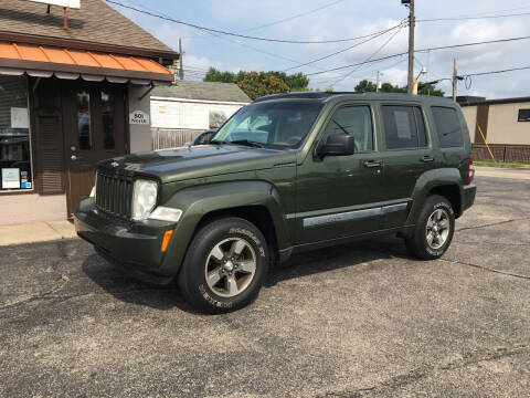 2008 Jeep Liberty for sale at D & D Auto Sales in Hamilton OH
