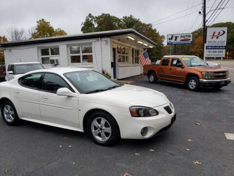 2006 Pontiac Grand Prix for sale at Highlands Auto Gallery in Braintree MA