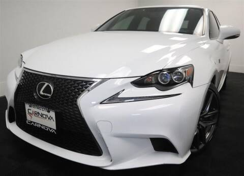 2016 Lexus IS 300 for sale at CarNova in Stafford VA