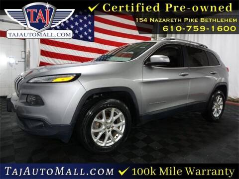 2016 Jeep Cherokee for sale at Taj Auto Mall in Bethlehem PA