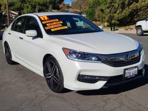 2017 Honda Accord for sale at CAR CITY SALES in La Crescenta CA