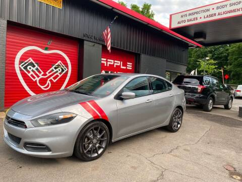 2016 Dodge Dart for sale at Apple Auto Sales Inc in Camillus NY