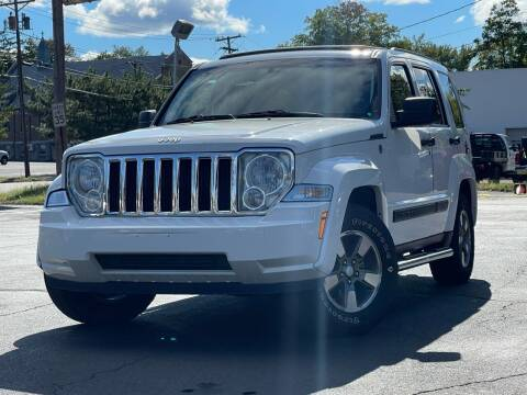 2008 Jeep Liberty for sale at MAGIC AUTO SALES in Little Ferry NJ