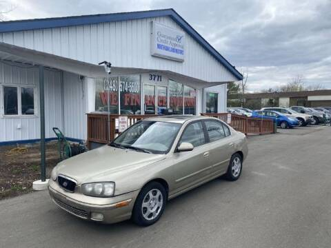 2002 Hyundai Elantra for sale at North Oakland Motors in Waterford MI