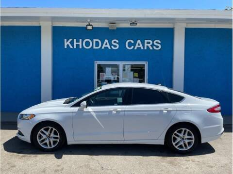 2016 Ford Fusion for sale at Khodas Cars in Gilroy CA