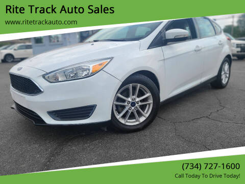 2016 Ford Focus for sale at Rite Track Auto Sales in Wayne MI