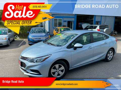 2017 Chevrolet Cruze for sale at Bridge Road Auto in Salisbury MA