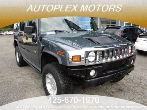 2005 HUMMER H2 for sale at Autoplex Motors in Lynnwood WA