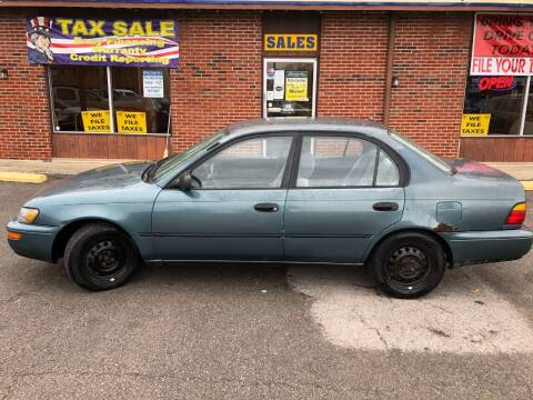 1995 Toyota Corolla for sale at Atlas Cars Inc. in Radcliff KY