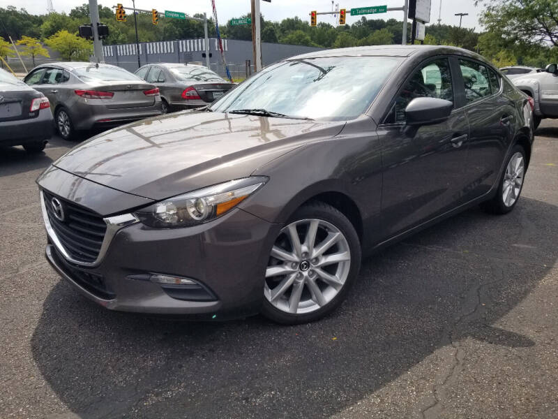 2017 Mazda MAZDA3 for sale at Cedar Auto Group LLC in Akron OH