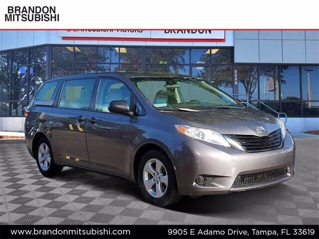 2017 Toyota Sienna for sale at Brandon Mitsubishi in Tampa FL