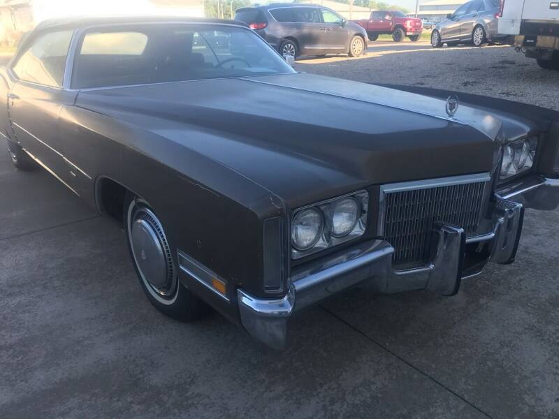 1971 Cadillac Eldorado for sale at Jim Elsberry Auto Sales in Paris IL
