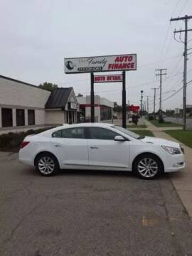 2015 Buick LaCrosse for sale at The Family Auto Finance in Redford MI