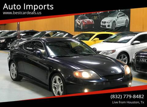 2006 Hyundai Tiburon for sale at Auto Imports in Houston TX