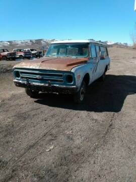 1968 Chevrolet Suburban for sale at Classic Car Deals in Cadillac MI