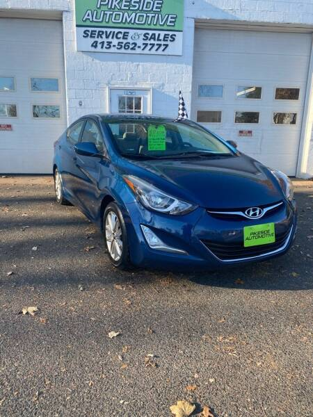 2014 Hyundai Elantra for sale at Pikeside Automotive in Westfield MA