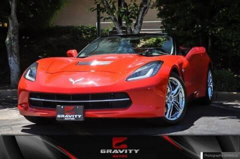 2017 Chevrolet Corvette for sale at Gravity Autos Atlanta in Atlanta GA