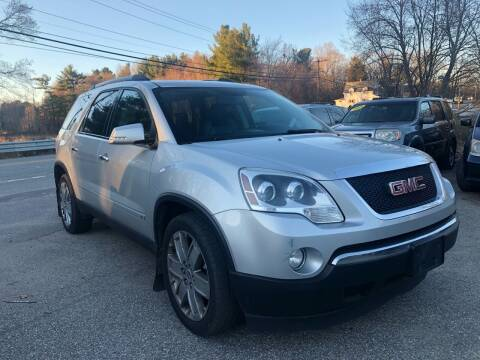 2010 GMC Acadia for sale at Royal Crest Motors in Haverhill MA